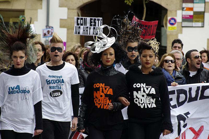 La Asociación de Peluquerías de Soria se suma a la protesta nacional contra la subida del IVA