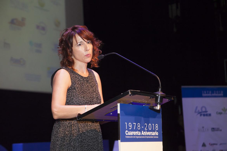 Participación de Ana Colás en la 40º Aniversario de FOES